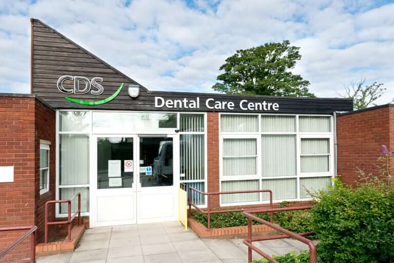 A CDS (Community Dental Services) clinic for people with special needs, including dental phobia
