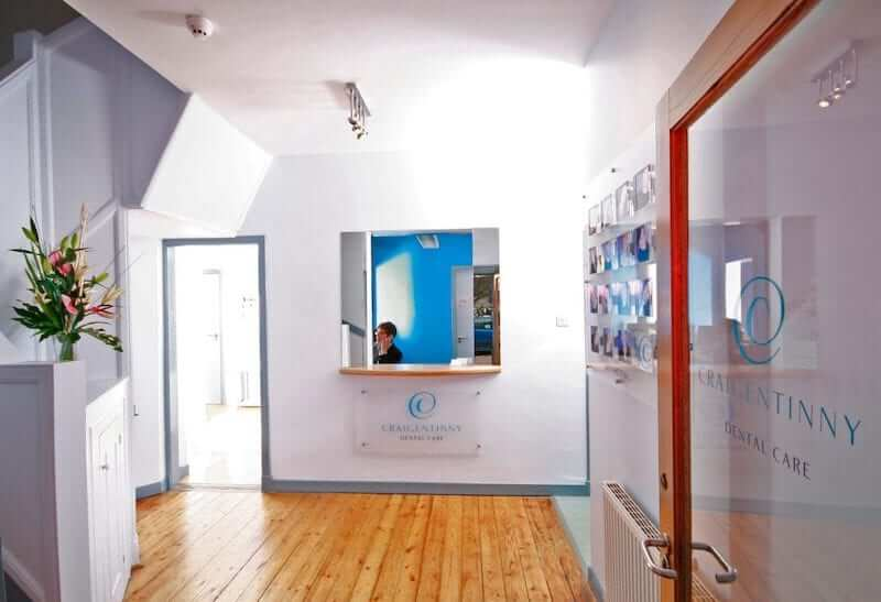 The reception area at Craigentinny Dental Care, which specialises in treating nervous and phobic dental patients.