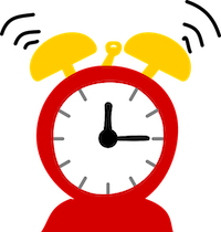 Picture of a clock - choosing a good time of day is important when making a dental appointment
