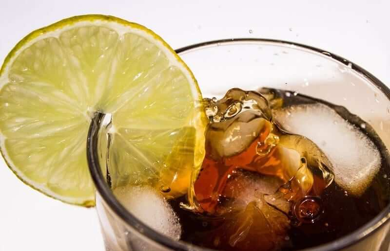Fizzy drinks can cause acid erosion